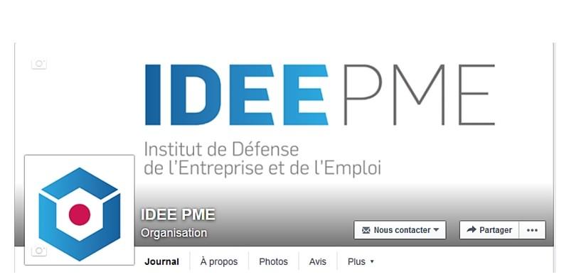 IDEE PME sur facebook