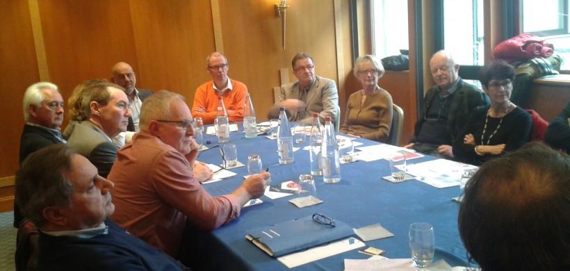 Première réunion des bénévoles IDEE PME