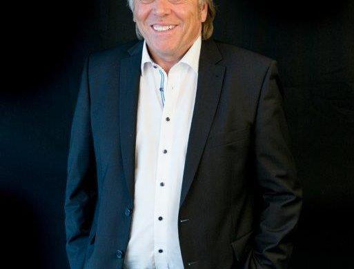 René Hans lors de la soirée l'académie des entrepreneurs