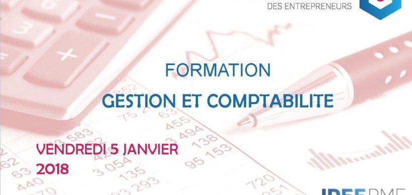 ACADÉMIE DES ENTREPRENEURS : FORMATION « GESTION ET COMPTABILITÉ »