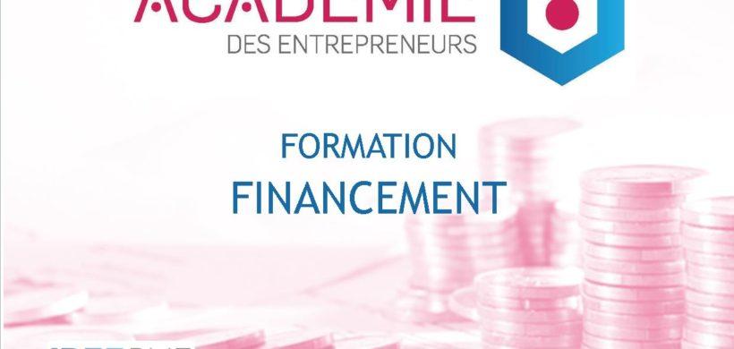 FORMATION «FINANCEMENT» – ACADÉMIE DES ENTREPRENEURS