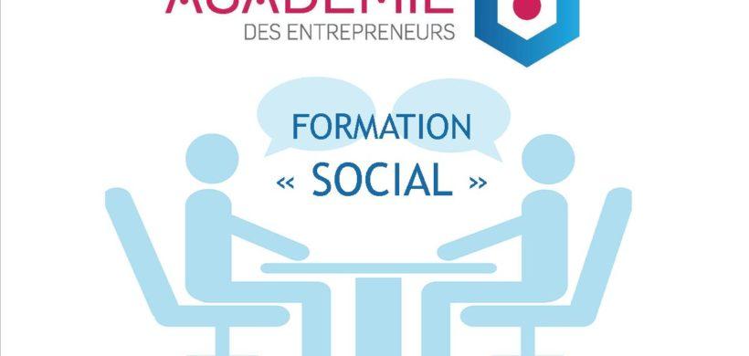 FORMATION «SOCIAL» – ACADÉMIE DES ENTREPRENEURS